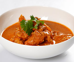 Butter chicken and rice thumbnail