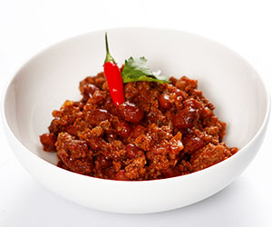 Chilli con carne and rice thumbnail