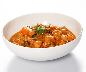 Vegetable curry and rice thumbnail
