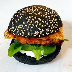Cajun chicken burger - mini thumbnail