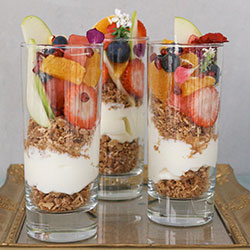 Fruit and yoghurt cups - 250ml thumbnail