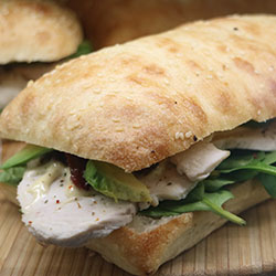 Foccacia / Turkish bread - half thumbnail