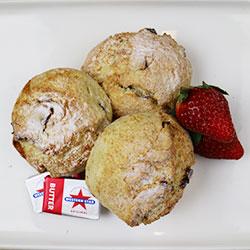Homemade scones thumbnail