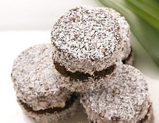 Chocolate lamingtons thumbnail