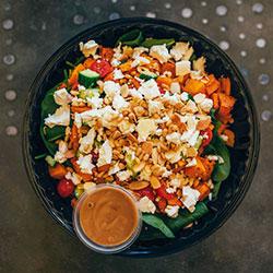 Pumpkin, pinenut, Persian feta salad thumbnail