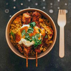 Tandoori chicken bowl thumbnail