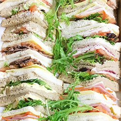 Assorted sandwiches and rolls thumbnail