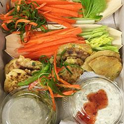 Veggie to go platter - serves 10 thumbnail