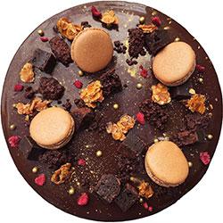 Dark chocolate mousse cake thumbnail