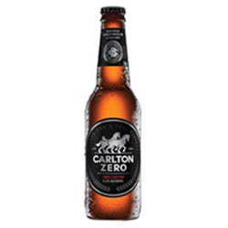 Carlton zero beer - 330ml thumbnail