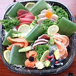 Sashimi large platter - serves 6 thumbnail