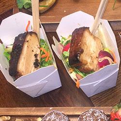 BBQ pork and Singapore noodle salad thumbnail