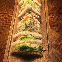 Organic sourdough sandwiches thumbnail