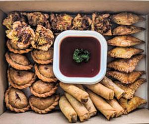 Housemade vegetarian hot finger food thumbnail