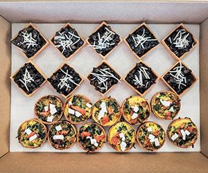 Vegetarian mini tarts thumbnail