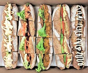 Vegetarian roll platter thumbnail