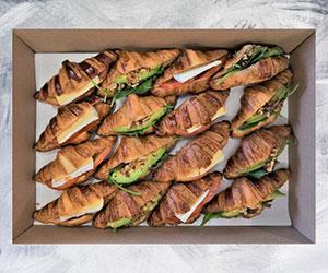 Vegetarian savoury croissants thumbnail