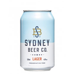Sydney Beer Co. Lager - 330ml cans thumbnail