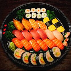 Nigiri and nori platter thumbnail