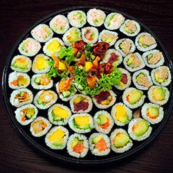 Nori maki platter - serves 8 to 10 thumbnail