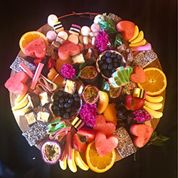 Grazing platter - sweets and fruits thumbnail