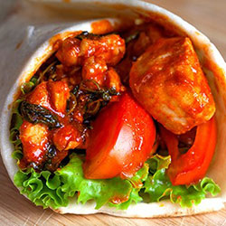 Chicken tikka wrap thumbnail