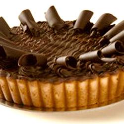 Chocolate ricotta pie thumbnail