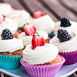 Iced cup cakes thumbnail