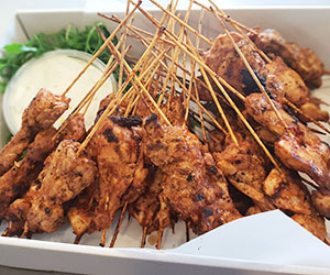 Tandoori chicken skewer thumbnail