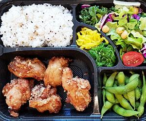 Karaage chicken bento box thumbnail