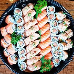 Salmon lover platter - serves 4 thumbnail