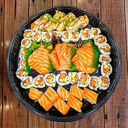 Salmon sashimi platter thumbnail