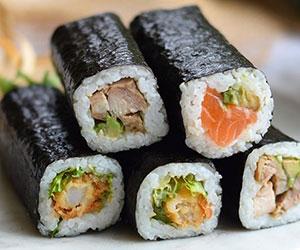 Sushi handrolls  thumbnail