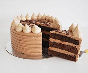 Nutella and milk chocolate cake thumbnail