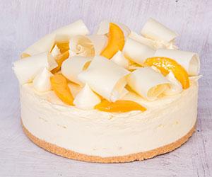 Mango white choc cheesecake thumbnail