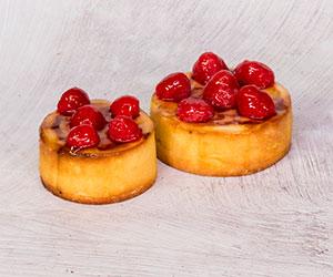 Raspberry cheesecake tart thumbnail