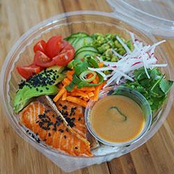 Pan seared salmon bowl thumbnail