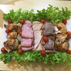 Cold meat platter - serves up to 8 thumbnail
