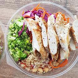 Shredded chicken salad thumbnail