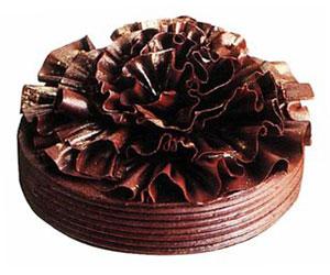 Black angel cake - 28 cm - serves up to 18 thumbnail