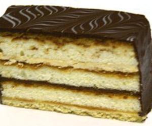 Chocolate coffee slice thumbnail