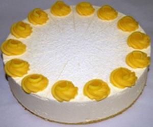 Tahitian lemon and lime cheesecake - 24 cm - serves up to 14 thumbnail