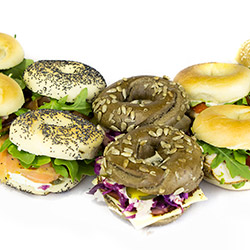The deluxe bagel box  - serves up to 10 thumbnail