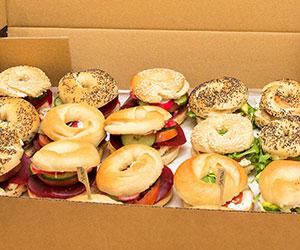 The vegetarian bagel box thumbnail