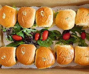 Gourmet sliders - mini thumbnail