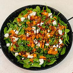 Pumpkin, spinach and feta  thumbnail