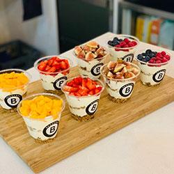 Granola yoghurt cups - 265ml thumbnail