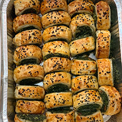Homemade gourmet rolls - mini thumbnail