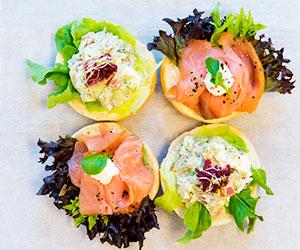 Open bagel - mini thumbnail