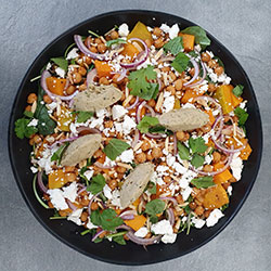 Roast pumpkin and chickpea salad thumbnail